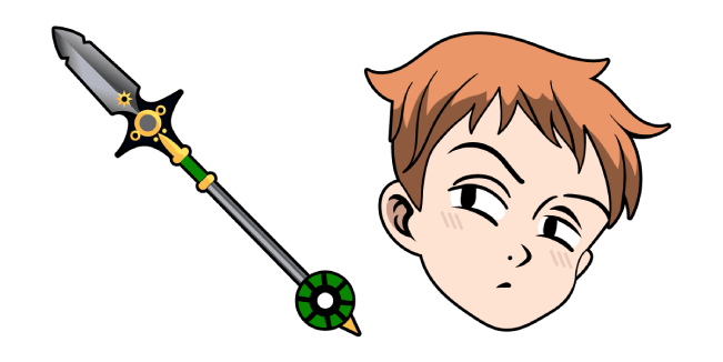The Seven Deadly Sins King Spirit Spear