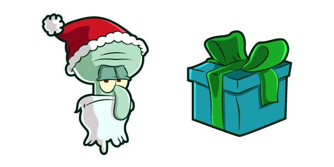 Squidward Santa