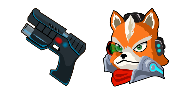 Star Fox McCloud Blaster
