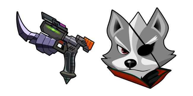 Star Fox Wolf O Donnell Blaster
