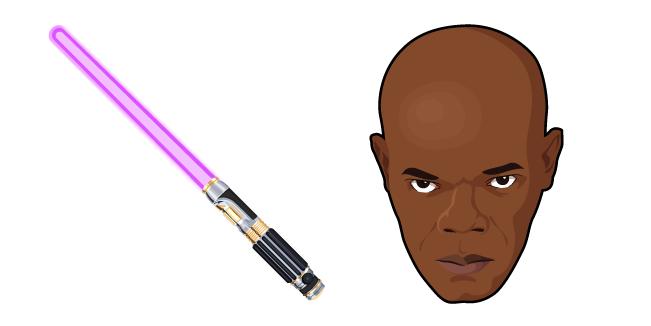 Star Wars Mace Windu Lightsaber