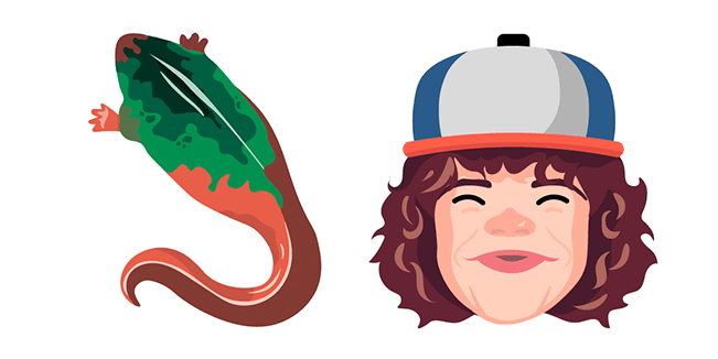 Stranger Things Dustin Baby Demogorgon Cursor