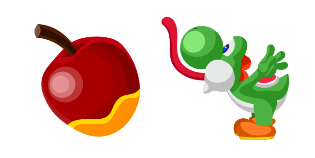 Super Mario Yoshi and Apple