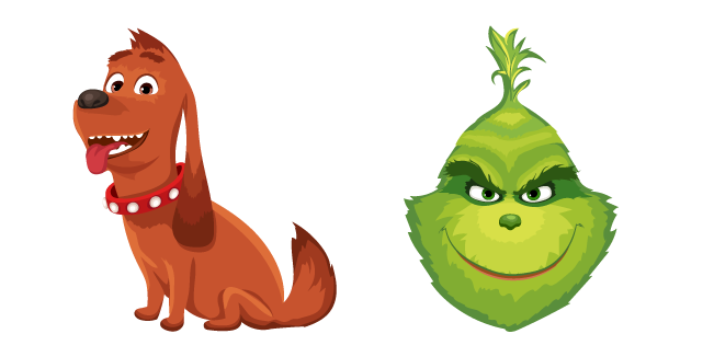 The Grinch and Max Cursor