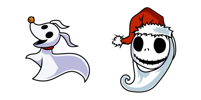 The Nightmare Before Christmas Jack and Zero Cursor