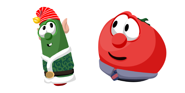 VeggieTales Christmas Larry and Bob