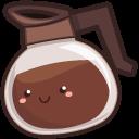 Cute Coffee Pot and Donut Cursor