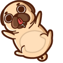 Puglie Pug Cursor