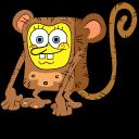 Monkey SpongeBob Cursor