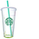 Starbucks Rainbow Drink Pointer