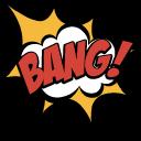 Retro Comics Arrow and Bang Pointer