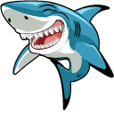 Funny Great White Shark Pointer