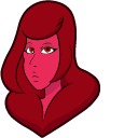 Steven Universe Red Diamond Cursor