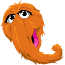 Sesame Street Mr. Snuffleupagus Pointer