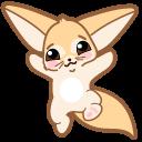 Cute Fennec Fox Cursor