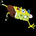 Spongebob Slipping On Ice Pointer
