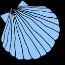 VSCO Girl Ocean Waves and Shell Pointer