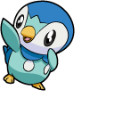 Pokemon Piplup and Empoleon Cursor