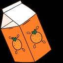 VSCO Girl Mustache and Orange Juice Pointer