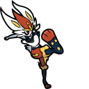 Pokemon Scorbunny and Cinderace Pointer