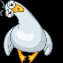 Funny Seagull Cursor