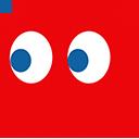 Pacman Blinky Ghost