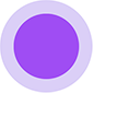 Purple Dot Cursor