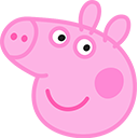 Peppa Pig Front View cursor – Custom Cursor browser extension