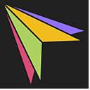 Colored Triangles Cursor