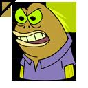 SpongeBob Chocolate Guy Cursor
