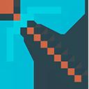 Minecraft Diamond Pickaxe Cursor