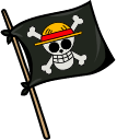 One Piece Monkey D Luffy Cursor