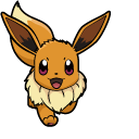 Pokemon Eevee and Espeon