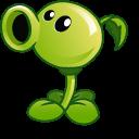 Plants vs Zombies Peashooter and Gatling Pea Cursor