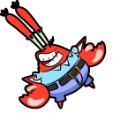 SpongeBob Mr Krabs Money Bag Cursor