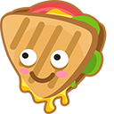 Cute Sandwich Cursor