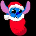 Lilo and Stitch Christmas Stitch Cursor