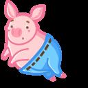 If a Cute Pig Wore Pants Cursor