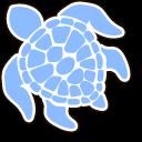 VSCO Girl Save the Turtles Cursor