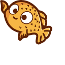 Cute Puffer Fish Cursor