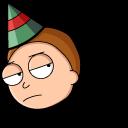 Christmas Rick and Morty Cursor