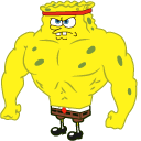 Increasingly Buff SpongeBob Pointer