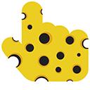 Cheese Hand Pointer