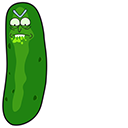Pickle Rick Pointer