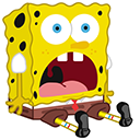 Surprised SpongeBob Pointer