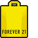 Forever 21 Plastic Bag Pointer