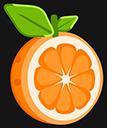 Orange Fruit Pointer