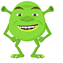 Shrek Wazowski Pointer