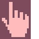 Baby Pink Pixel Pointer