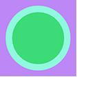 Purple Dot Pointer